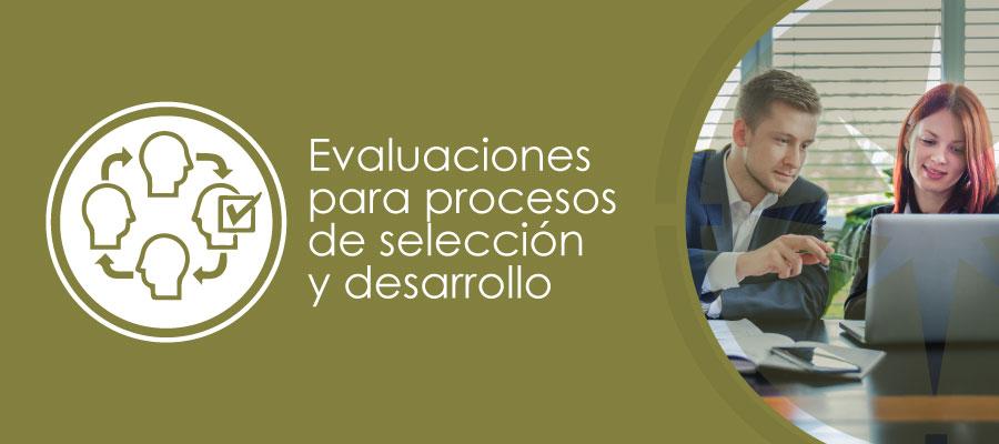 Servicio de evaluaciones para procesos de selección y desarrollo , HTT latam